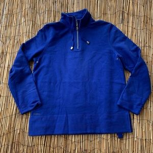 LAUREN JEANS CO. ROYAL BLUE PULLOVER SWEATSHIRT M